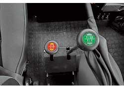 Делитель «раздатки»  увеличивает количество передач трансмиссии в четыре раза.