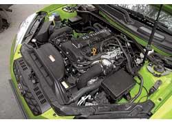 Двигатель с изменямыми фазами газораспределения впуска и выпуска разработан в бывшей «семье» DaimlerChrysler, Mitsubishi и Hyundai и является прямым родственником двигателя Mitsubishi Lancer Evolution.