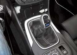 Для заряженной Opel Insignia OPC предлагается только 6-ступенчатая механическая коробка передач.