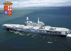 Авианосец Cavour – новый флагман итальянского флота.