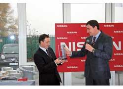Дилерский центр «Кий Авто» получил международную награду NSSW Award – Nissan Sales and Service Way.