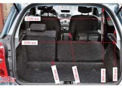 У Clio Renault Sport не только горячий характер, но и  практичный салон со складывающимися по частям спинками задних сидений.