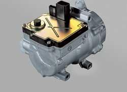 Одно из последних ноу-хау – электрический компрессор кондиционера, который практически не будет отбирать мощность у двигателя.