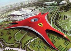 В следующем году Ferrari откроет крупнейший в мире крытый тематический парк развлечений в Абу-Даби.