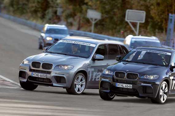 BMW X5 M, BMW X6 M