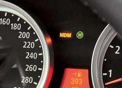 В режиме MDynamic Mode (MDM) электроника позже воздействует на мотор итормоза, а xDrive переходит в более «заднеприводный» режим.