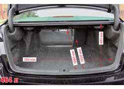 Багажник Honda меньше. Однако он удобнее за счет трансформаций и меньшей на 3 см погрузочной высоты.