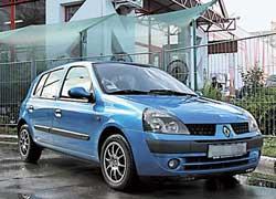 Renault Clio II 1998–2005 г. в.