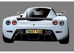 Сдвоенные круглые фонари и массивный диффузор усиливают схожесть Arash cитальянским  Ferrari Enzo.
