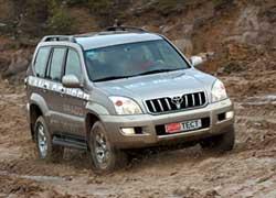 Toyota LC Prado с 2002 г.