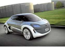 Электромобиль Zoe появится вмодельной гамме Renault в 2012 году.
