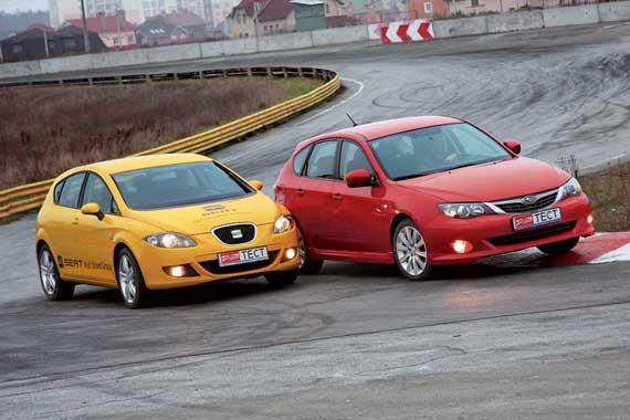 Seat Leon, Subaru Impreza