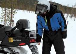 В случае необходимости водиночку поднять снегомобиль подобного класса не удастся– это вам не одноместный «спортсмен».