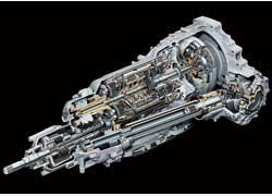 8-диапазонный «автомат» может работать в «связке» с опционной навигационной системой, подбирая оптимальные передачи.