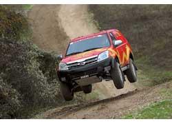 Great Wall Hover команды Dessoude начинен техникой     от Nissan.