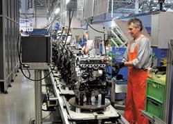 Собственное производство двигателей– одно из преимуществ завода.
