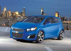 Прообраз Chevrolet Aveo нового поколения.