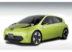Концепт Toyota FT-CH оснащен гибридным приводом от Prius.