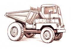 Венгерский Raba DR-50 имел два руля и перевозил 6 тонн.