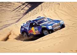 «Дакар» покорился Сайнсу лишь с четвертой попытки. Интересно, что и первый титул в WRC испанец выиграл с четвертого раза.