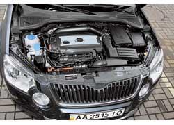 Мотор Skoda Yeti