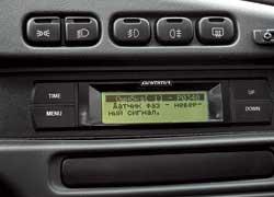 Дополнительно установленный борткомпьютер предоставляет водителю множество информации и даже указывает на неисправности в электронных системах.