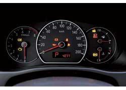 Перед глазами водителя – вся необходимая информация, представленная в простом и легко читаемом виде.