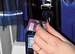 Техпаспорта иправа печатают вЕДАПС, аталоны заполняют накомпьютере вМРЭО.