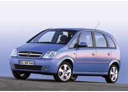 Opel Meriva впервые появился в 2003 году.