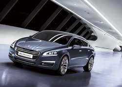 Концепт «5byPeugeot» станет прообразом будущего Peugeot508.