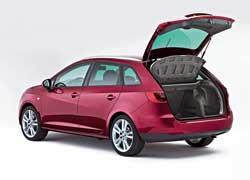 Багажник универсала на 138литров больше, чем у хэтчбека Ibiza.
