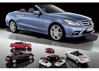 Моделька Mercedes-Benz E-Кlassе Convertible 2011