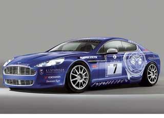 Гоночная версия Aston Martin Rapide почти не отличается отсерийного Rapide, презентованного в прошлом году на автошоу воФранкфурте.