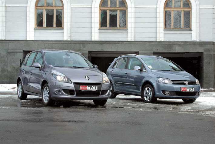 Renault Scenic, Volkswagen Golf Plus