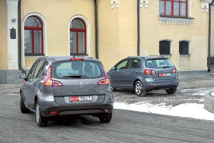 Облик Renault полностью новый, ведь это третье поколение модели, впервые показанное в прошлом году. Внешность же Volkswagen более знакома. Машина прошла рестайлинг, чтобы соответствовать новому стилю компании.