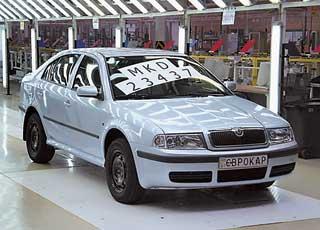 С конвейера MKD-производства завода «Еврокар» 8 апреля 2010 года сошел последний автомобиль модели Skoda Octavia Tour.