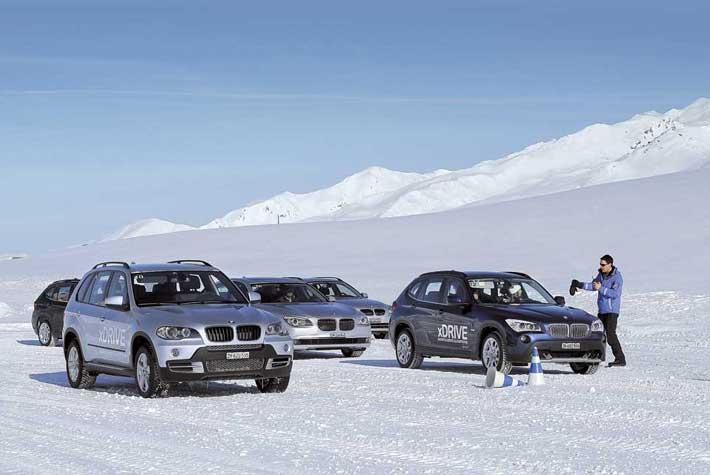 Школа зимней езды BMW Winter Driving