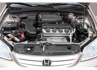 Моторы Civic дороже в обслуживании: нужно менять ремень ГРМ, ролики (у Corolla стоит цепь) и чаще, чем у конкурента, регулировать клапаны.