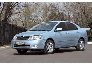 Toyota Corolla 2001–2006 г. в.