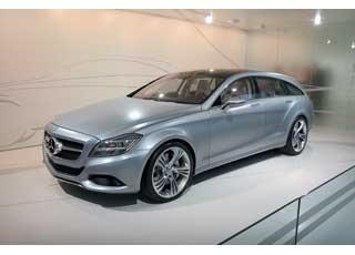 Концептуальный спортуниверсал Mercedes-Benz Shooting Break оснащен 3,5-литровым 306-сильным V6.