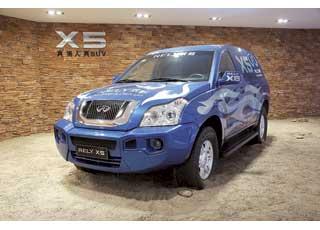 В арсенале Rely X5 – 2,0-литровый 170-сильный бензиновый мотор и5-ступенчатая МКП.