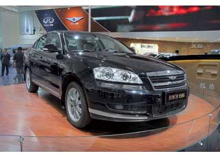 Riich G6 – флагманский седан будет доступен с 2,0-литровым турбодизелем (170 л.с.) или 3,0-литровым V6 (193 л. с.).