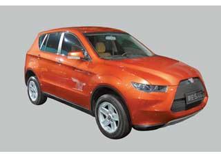 Компактный (4,2м) SUV Englon SX6 появится на рынке в2013 г.