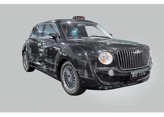 Прообраз будущего лондонского такси– EnglonTXN спосадочной формулой 1+1+3.