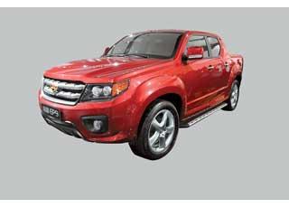 Полноразмерный (5,25 м) 5-местный пикап Emgrand EP9 получит 2,4-литровый бензиновый или 2,2-литровый турбодизель.