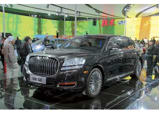 Новый облик флагманского седана Emgrand GE  уже никто не сравнит с Rolls-Royce.