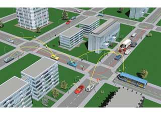 Коммуникационная система Car2x позволит машинам «общаться» между собой и с дорожной инфраструктурой.