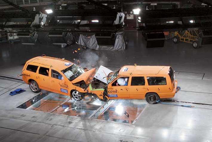 Краш-лаборатория Volvo