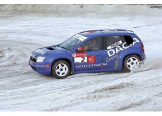 В сезоне Trophee Andros 2009/2010 четырехкратный чемпион Формулы-1 – французский гонщик Алан Прост за рулем 350-сильного полноприводного полноуправляемого среднемоторного Duster выиграл несколько гонок и в результате занял второе место.