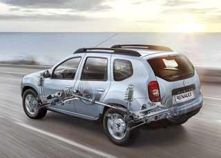 Renault Duster с передним и полным приводом